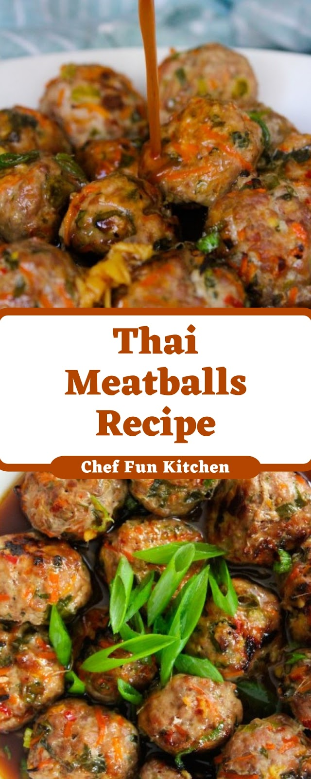 Thai Meatballs Recipe