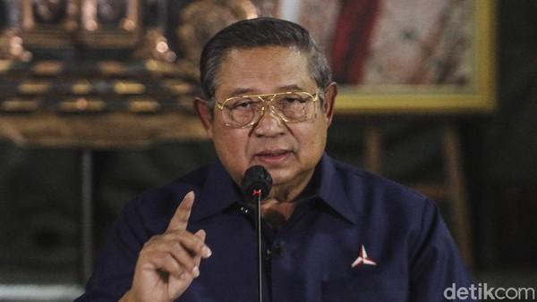 Aksi SBY Daftar Merek Partai Demokrat Atas Nama Pribadi