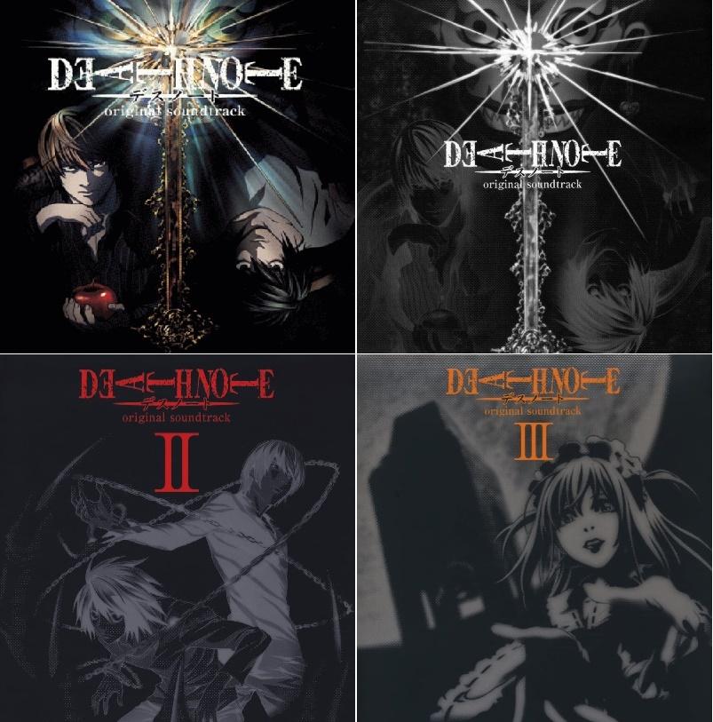 جميع أوستات أنمى مذكرة الموت   Death Note Original Soundtrack