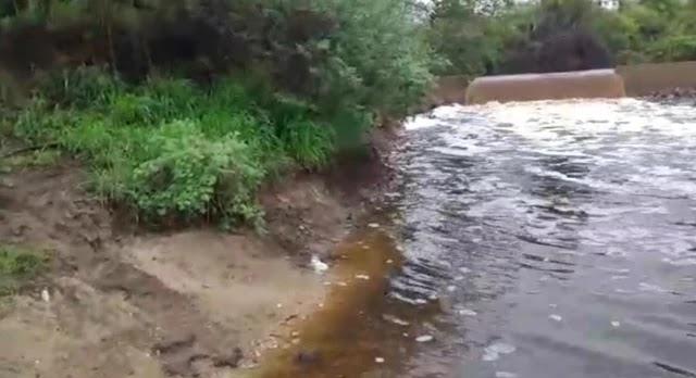 Rio Jacuípe que nasce em Morro do Chapéu