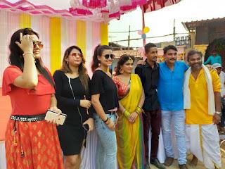 Aakh Michauli Bhojpuri Movie Shooting