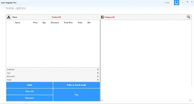 Screenshot Cash Register Pro 2.0.5.0 Full Version