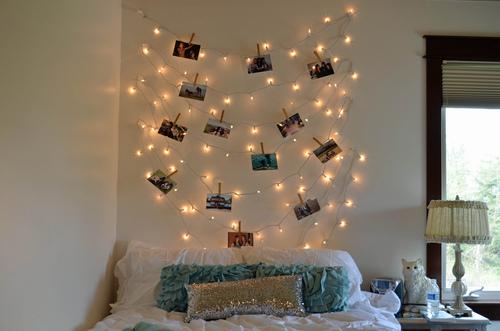 Lichterkette An Der Wand Home Ideen