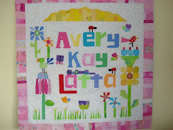 Laurie Latta's Darling Quilt for her Granddaughter