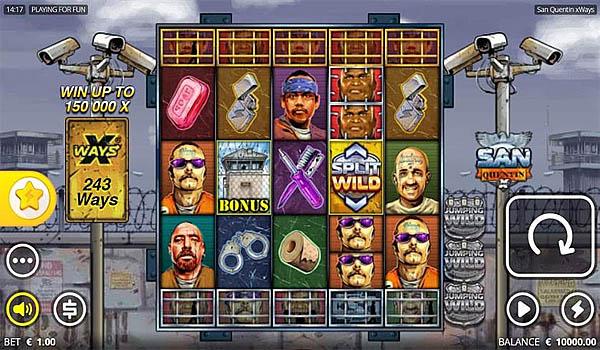 Main Gratis Slot Indonesia - San Quentin xWays Nolimit City