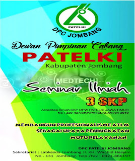 Seminar Ilmiah DPC PATELKI Kabupaten Jombang 2019