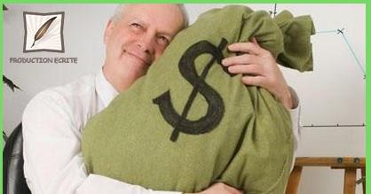 Production écrite, 2 sujet: L'argent, fait-il le bonheur ?