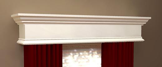 Diy Wood Window Cornice