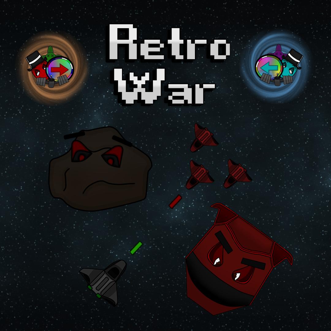 Retro War Banner