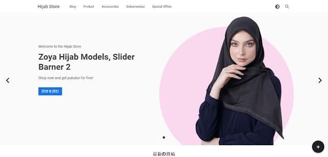 Toko Online: Template Blogger Store Tanpa Shopping Cart