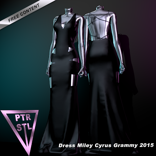 Dress Miley Cyrus Grammy 2015