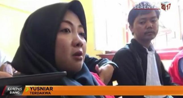 "Yusniar Ditahan gara-gara Status ""No Mention"" di Facebook"