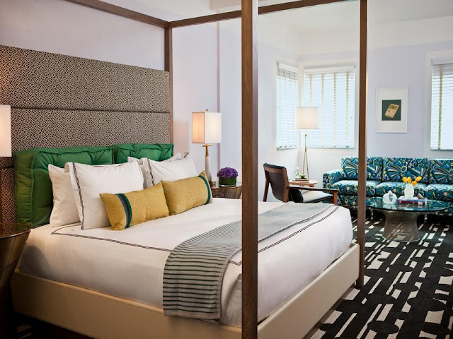 Kimpton Surfcomber Hotel is a trendy and hip boutique hotel in South Beach Miami, Florida. Enjoy an ocean front stay at this boutique Kimpton Hotel.