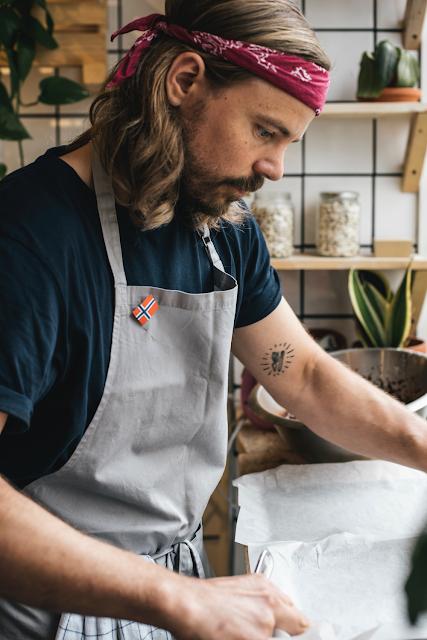Christopher Gulliksen - kokk og medgründer av Åkern Foto: Nikol Herec
