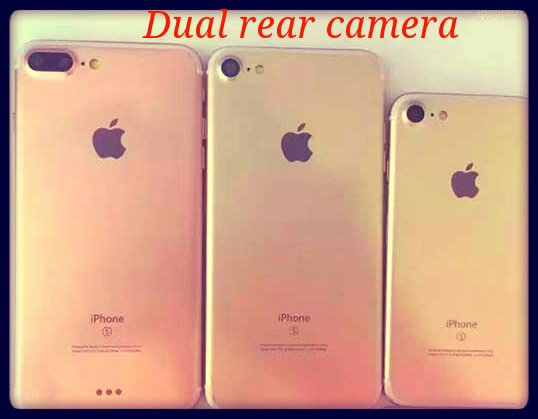 apple iPhone 7 dual camera by Techgot