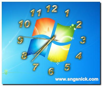 TheAeroClock 4.24 - Пример вида Воздушных часов