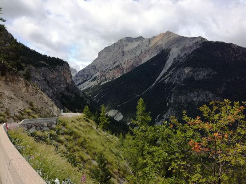 salita verso il Coll de l'Echelle dal versante italiano