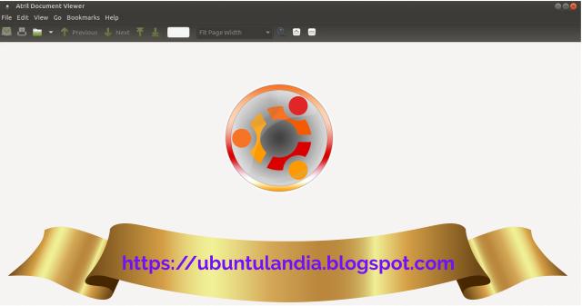 Guida a Atril visualizzatore di documenti in formati pdf e postscript: introduzione e utilizzo.