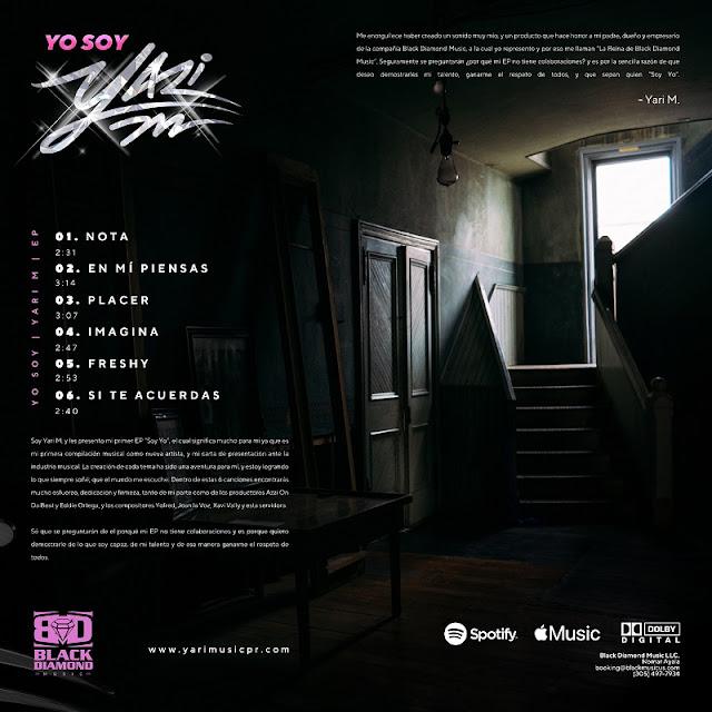 """Yari M está de estreno con el lanzamiento de su nuevo disco """"Yo Soy Yari M"""""""