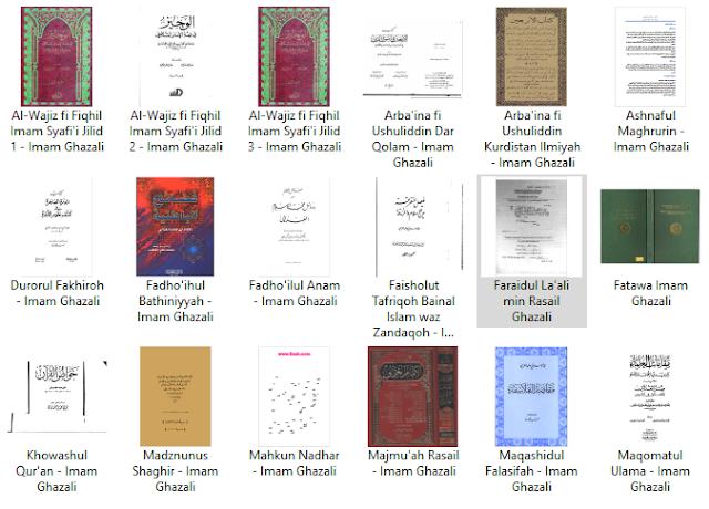 link download kumpulan karya imam ghazali