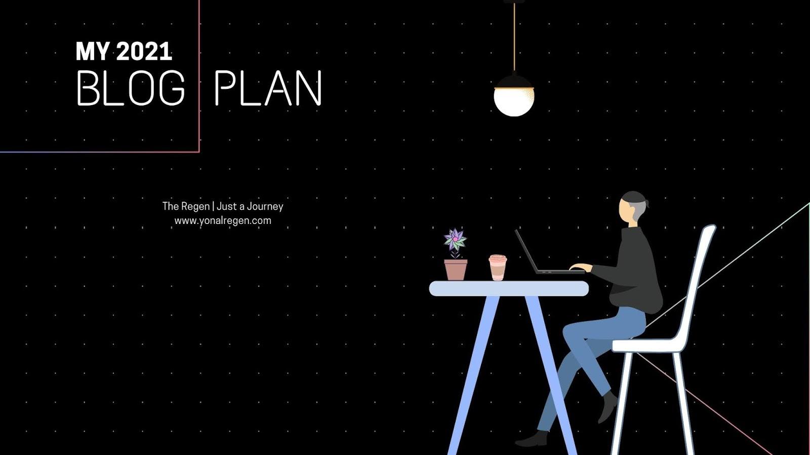my 2021 blog plan