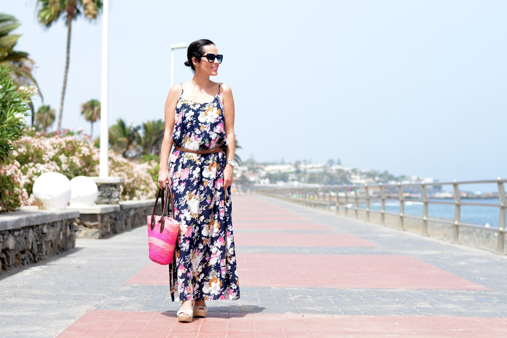 floral-maxi-dress-gran-canaria-outfit