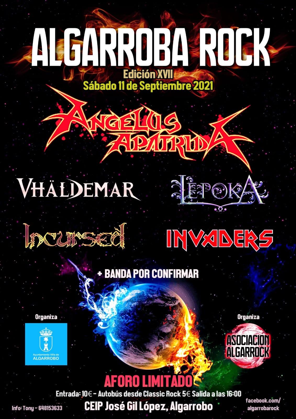 festival ALGARROBA ROCK XVII
