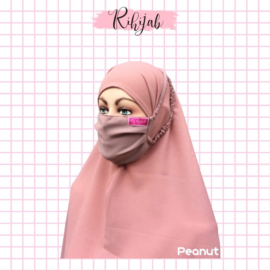 Promo Masker Rihijab 70.000 Dapat 5 Pcs