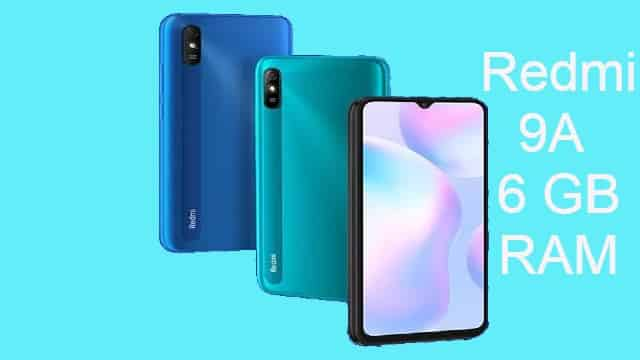Redmi 9A: Launched 6 GB RAM and 128 GB Variant