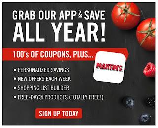 Martin's weekly ad previews November 29 - December 5, 2019