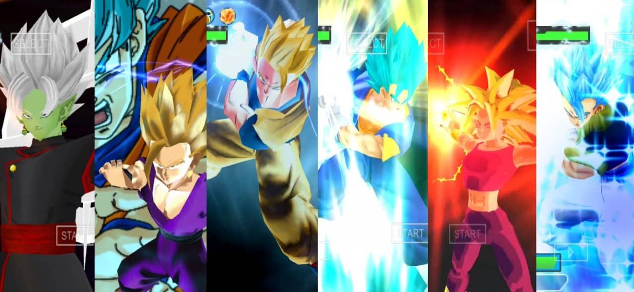 DBZ TTT Mod Download Dragon Ball Super Game