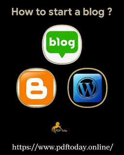 How to start a blog in WordPress - A complete guide