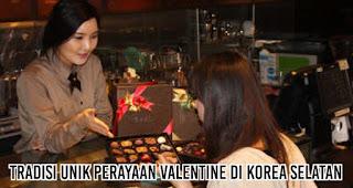 Tradisi Unik Perayaan Valentine Di Korea Selatan.