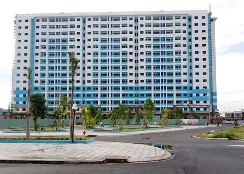 Chung cư 584 Tân Kiên bị BIDV đấu giá siết nợ