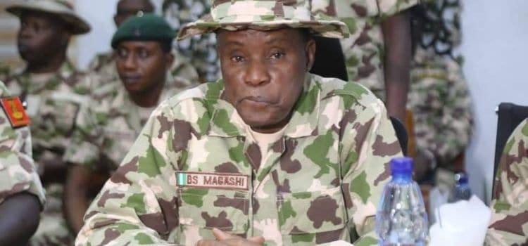 Major Gen. Bashir Magashi