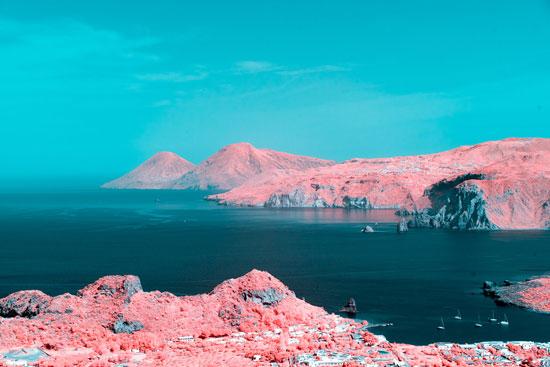 kumpulan foto keren tekhnik fotografi inframerah dengan sentuhan warna alami