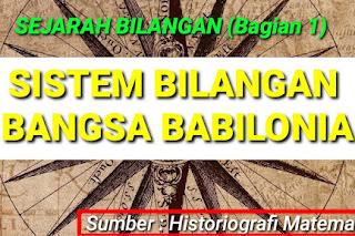 Sejarah Matematika Babilonia