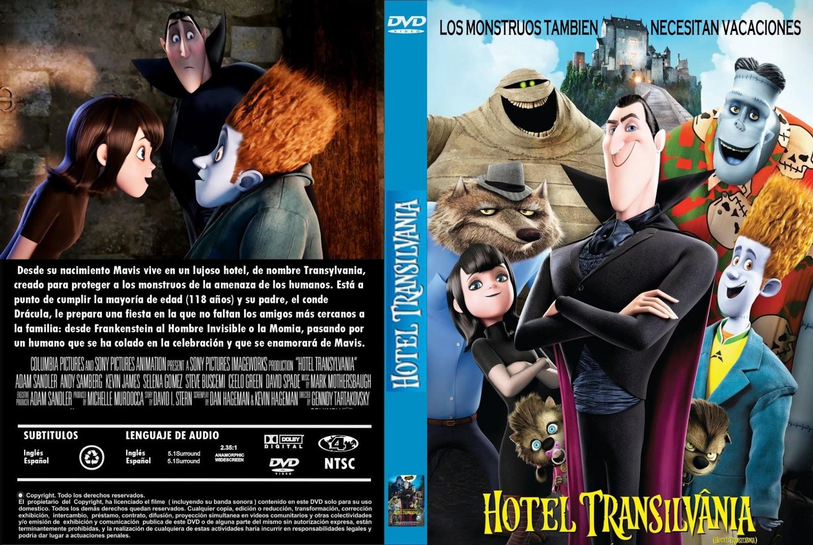 PELICULAS DVD FULL HOTEL TRANSYLVANIA