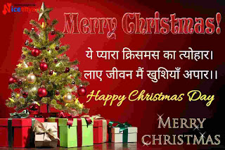 Merry Christmas 2021 Wishes in Hindi
