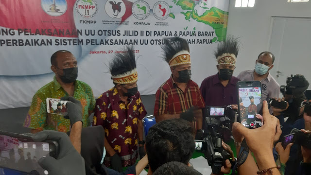 Terkait Otsus Jilid II, Ini Sikap Tokoh Papua dan Papua Barat Bersama Papua Diaspora