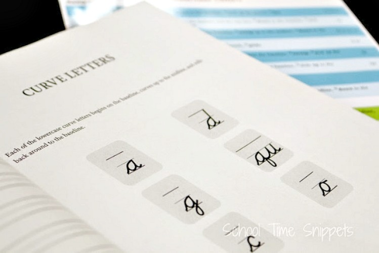 Rhythm of Handwriting Cursive Curriculum Review
