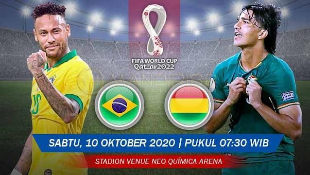 Prediksi Brasil Vs Bolivia, Sabtu 10 Oktober 2020 Pukul 07.30 WIB @ Mola TV