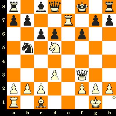Les Blancs jouent et matent en 3 coups - Ludwig Ernst Bachmann vs Fiechtl, Regensberg, 1887