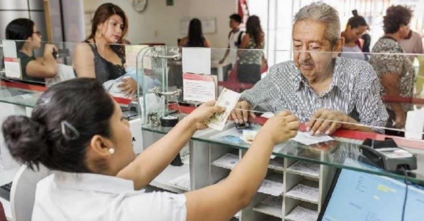 ONP informa que pago de pensiones a jubilados se viene realizando con normalidad según Cronograma de Marzo