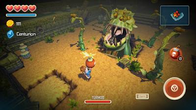 game controls for oceanhorn