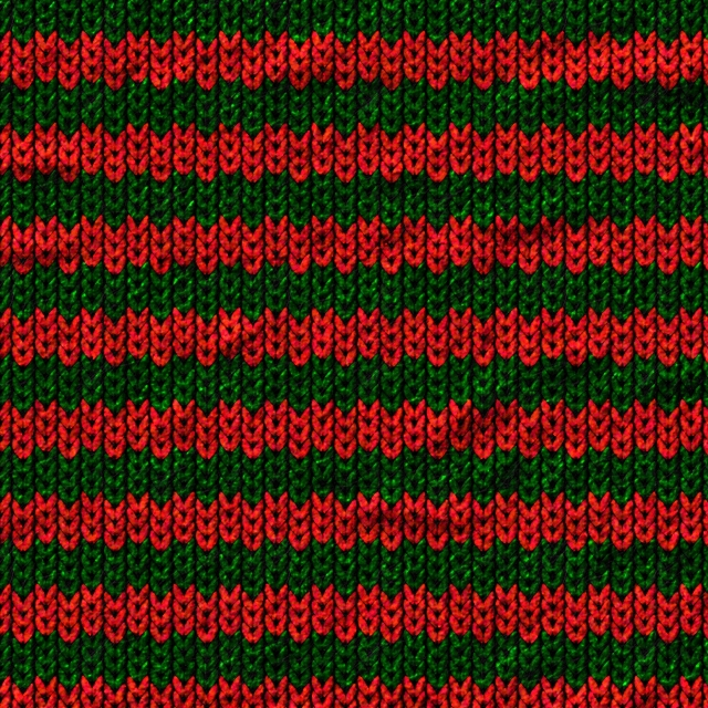 Seamless red green wool fabric texture 100% zoomed in