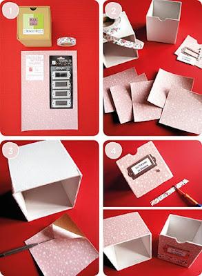 riciclare scatole di cartone