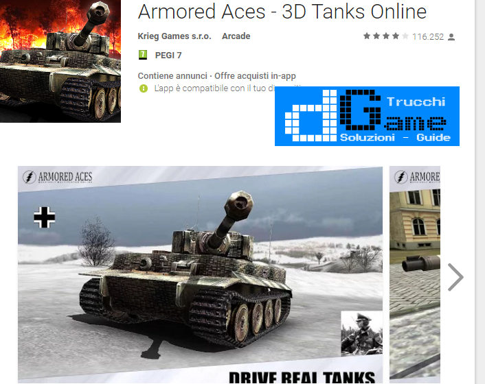 Trucchi Armored Aces – 3D Tanks Battles Mod Apk Android v2.4.6