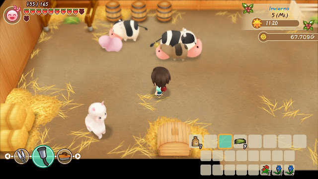 alpaca - Story of Seasons: Friends of Mineral Town