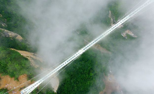 Famous Zhang Jia Jie Glass Bridge in China Went Viral. Did it Really Collapse?